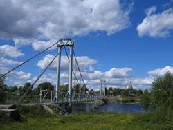 Мост через р. Кемь