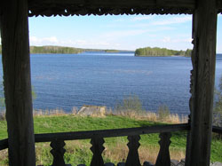 Вид на Онежское озеро. Д.Янгозеро