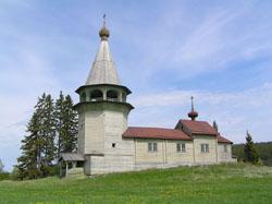 Никольская церковь в д.Вегорукса