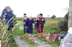 Причитание на могиле И.А. Федосовой