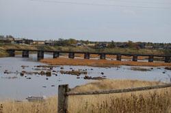 С. Шуерецкое. Мост через реку Шую