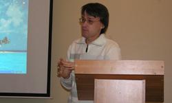Ведущий инженер Фонограммархива ИЯЛИ В.Б. Бовин рассказывает о создании видеофильма о сибирских вепсах. 21.03.2007 г.