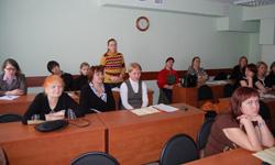Работа секции фольклористов и этнографов. 24.03.09 г.